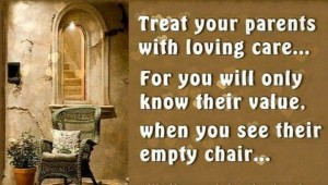 treat your parents